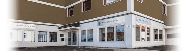 Gebäude Pharma Resources